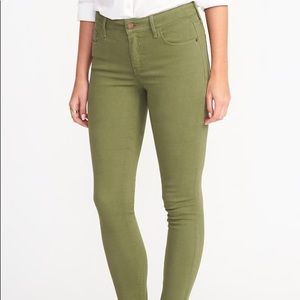 Old Navy Rockstar Super Skinny Jeans - Olive